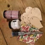 Wooden Heart Bunting and Zoom! Saturday 20th March 10am